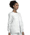 Photograph of WW Originals Women's Snap Front Warm-Up Jacket White 4350-WHTW