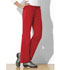 Photograph of WW Flex Women's Mid Rise Moderate Flare Drawstring Pant Red 44101A-REDW