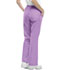 Photograph of Workwear WW Flex Women's Mid Rise Moderate Flare Drawstring Pant Purple 44101A-VBOW
