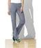 Photograph of WW Flex Women's Mid Rise Straight Leg Elastic Waist Pant Gray 44200A-GRYW