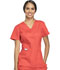 Photograph of WW Flex Women's V-Neck Top Red 44700A-HTLW