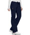 Photograph of Bliss Women Low Rise Straight Leg Drawstring Pant Blue 46000AB-NVCH