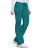 Photograph of Bliss Women Low Rise Straight Leg Drawstring Pant Green 46000AB-TLCH