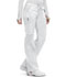 Photograph of Bliss Women's Low Rise Straight Leg Drawstring Pant White 46000AB-WHCH