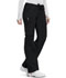 Photograph of Bliss Women's Low Rise Straight Leg Drawstring Pant Black 46000A-BXCH