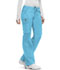 Photograph of Bliss Women Low Rise Straight Leg Drawstring Pant Blue 46000A-TQCH