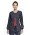 Photograph of Code Happy Bliss Women's Snap Front Warm-up Jacket Gray 46300AB-PWCH