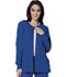 Photograph of Bliss Women's Snap Front Warm-up Jacket Blue 46300A-RYCH
