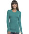 Photograph of Bliss Women's Long Sleeve Underscrub Knit Tee Green 46608A-TLCH