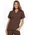 Photograph of WW Originals Women\'s V-Neck Top Brown 4700-CHCW