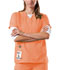 Photograph of WW Originals Women's V-Neck Top Orange 4700-ORSW