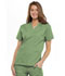 Photograph of WW Originals Women's V-Neck Top Green 4700-SAGW