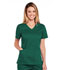 Photograph of WW Core Stretch Women's V-Neck Top Green 4710-HUNW