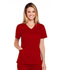 Photograph of WW Core Stretch Women's V-Neck Top Red 4710-REDW