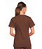 Photograph of WW Core Stretch Women V-Neck Top Brown 4727-CHCW