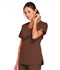 Photograph of WW Core Stretch Women's V-Neck Top Brown 4727-CHCW