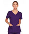 Photograph of WW Core Stretch Women's V-Neck Top Purple 4727-EGGW
