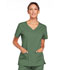 Photograph of WW Core Stretch Women's V-Neck Top Green 4727-OLVW