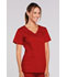 Photograph of WW Core Stretch Women's V-Neck Top Red 4727-REDW