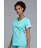 Photograph of WW Core Stretch Women's V-Neck Top Blue 4727-TAST