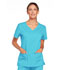 Photograph of WW Core Stretch Women\'s V-Neck Top Blue 4727-TRQW