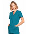 Photograph of WW Core Stretch Women Mock Wrap Top Blue 4728-CARW