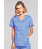 Photograph of WW Core Stretch Women Mock Wrap Top Blue 4728-CIEW