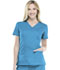 Photograph of WW Core Stretch Women's Mock Wrap Top Blue 4728-HWOW