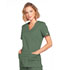 Photograph of WW Core Stretch Women Mock Wrap Top Green 4728-OLVW