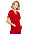 Photograph of WW Core Stretch Women's Mock Wrap Top Red 4728-REDW