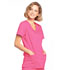 Photograph of WW Core Stretch Women's Mock Wrap Top Pink 4728-SHPW