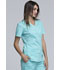 Photograph of WW Core Stretch Women's Mock Wrap Top Blue 4728-TAST