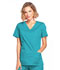 Photograph of WW Core Stretch Women's Mock Wrap Top Green 4728-TLBW
