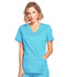 Photograph of WW Core Stretch Women Mock Wrap Top Blue 4728-TRQW