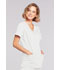 Photograph of WW Core Stretch Women's Mock Wrap Top White 4728-WHTW
