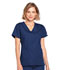 Photograph of WW Originals Women's Mock Wrap Top Blue 4741-NAVW