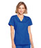 Photograph of WW Originals Women's Mock Wrap Top Blue 4741-ROYW
