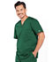 Photograph of WW Core Stretch Men's Men's V-Neck Top Green 4743-HUNW