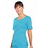Photograph of WW Originals Women's V-Neck Top Blue 4746-TRQW