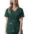 Photograph of WW Core Stretch Women's Mock Wrap Top Green 4748-HUNW