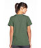 Photograph of WW Originals Women's Snap Front V-Neck Top Green 4770-OLVW