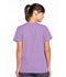 Photograph of WW Originals Women's Snap Front V-Neck Top Purple 4770-ORCW