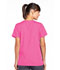 Photograph of WW Originals Women's Snap Front V-Neck Top Pink 4770-SHPW
