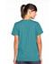 Photograph of WW Originals Women's Snap Front V-Neck Top Green 4770-TLBW
