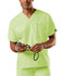 Photograph of WW Originals Unisex Unisex V-Neck Tunic Green 4777-CELW