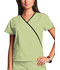 Photograph of WW Originals Women's Mini Mock Wrap Top Green 4800-CELW