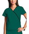 Photograph of WW Originals Women's Mini Mock Wrap Top Green 4800-HUNW