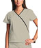 Photograph of WW Originals Women's Mini Mock Wrap Top Khaki 4800-KAKW