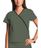 Photograph of WW Originals Women\'s Mini Mock Wrap Top Green 4800-OLVW