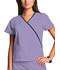 Photograph of WW Originals Women\'s Mini Mock Wrap Top Purple 4800-ORCW